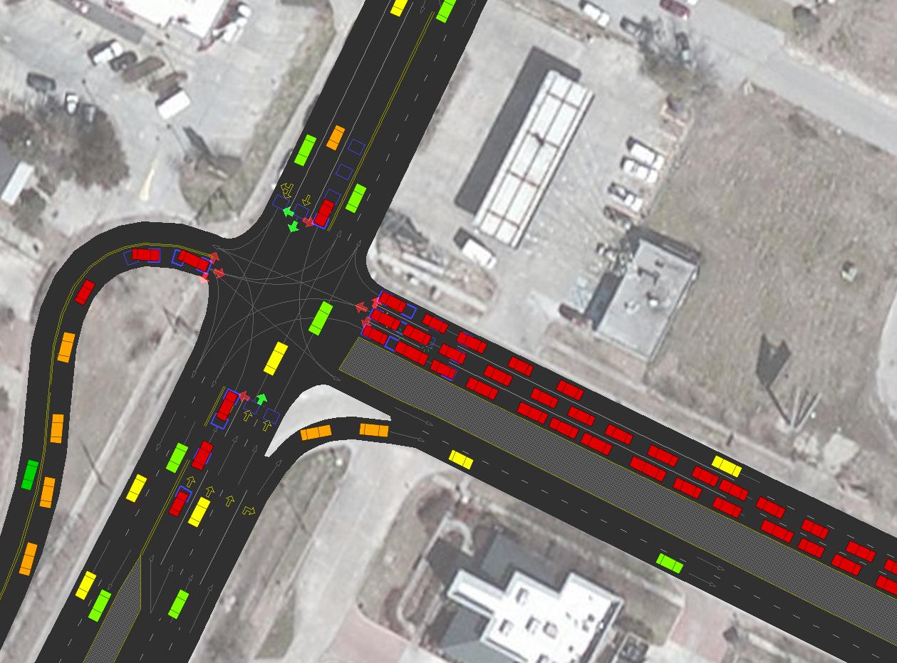 TransModeler - tm-se-intersection