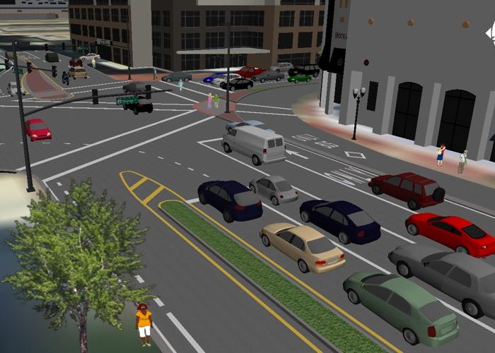 TransModeler - 3D Intersection Simulation